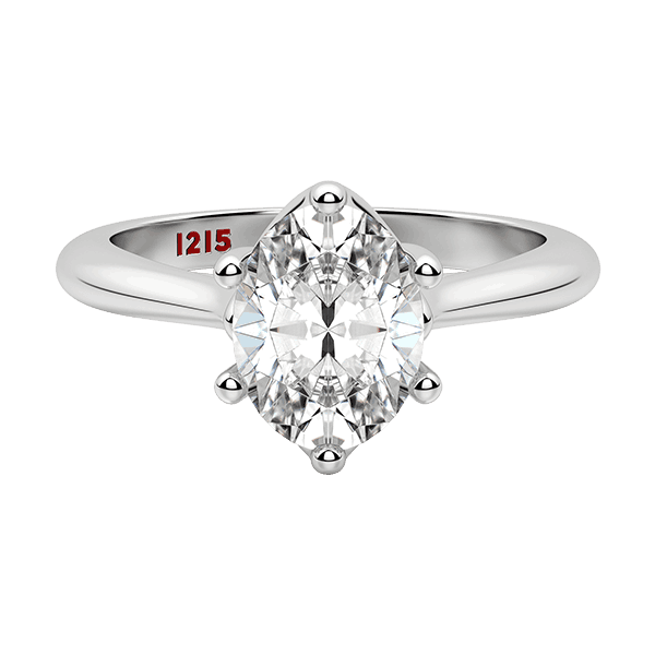 Modern Oval Solitaire